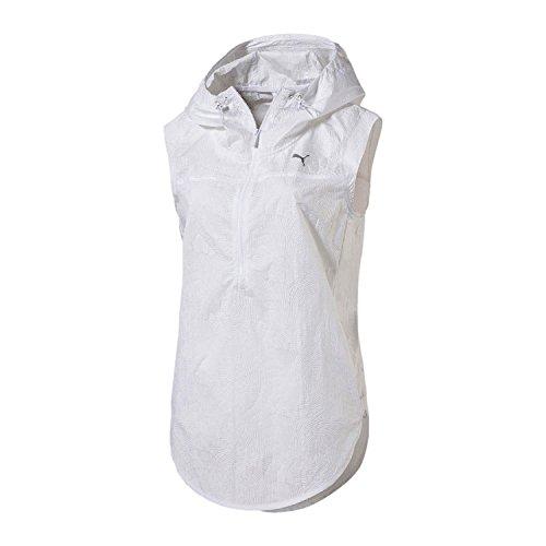 Puma Damen Culture Surf Cover Up Sleeveless Tank-Top - Weiß Shirts, White-Swirl Print, S