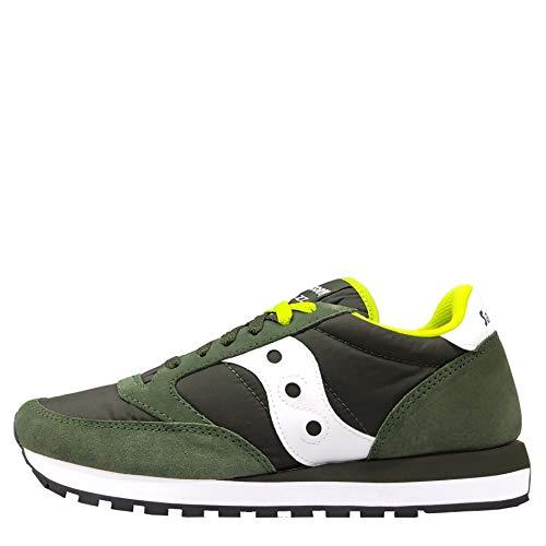 SAUCONY scarpe sneaker uomo JAZZ ORIGINAL 2044-275 verde e bianco 44 eu - 10 us - 9 uk