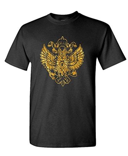 Imperial Russian Eagle - Wilhelm Russia Tee Shirt T-Shirt, XL, Black