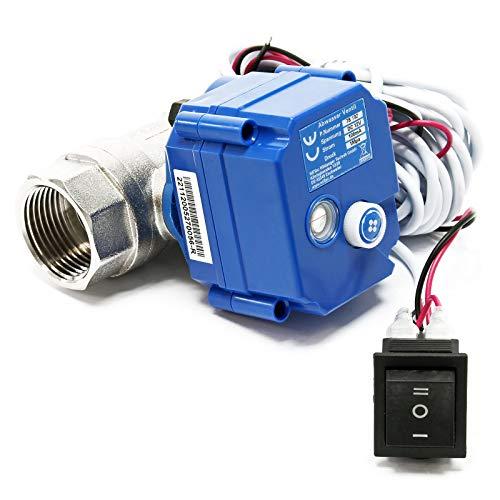 Kugelventil für Abwasser bei Wohnmobilen & Wohnwagen für DC 12V mit ∅25mm & Notentriegelung