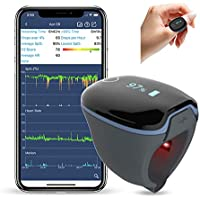 Wellue O2Ring Wearable Sleep Monitor Bluetooth Health Tracker With Free APP & PC Report