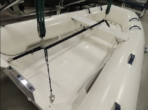 C- Level Adjustable Heavy Duty Dinghy Lift for Davits