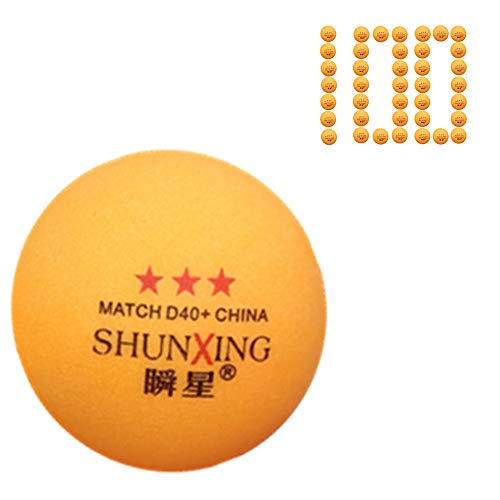Best Buy! YALESS ALESS(SHUNXING) True 3-Star 40mm Table Tennis Advanced Durable Competition Training...