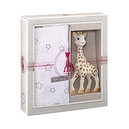 Vulli 000004 Sophiesticated Sophie la Girafe Regalo 2+ Anni di Nascita, Multicolore, Taglia M