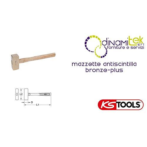 KS Tools 963.2050 BroNZEplus vuistje 1000 g, met hickorysteel