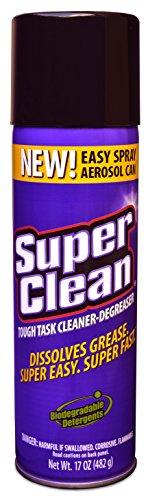 Multi Surface All Purpose Gunk Remover Aerosol Degreaser, Biodegradable, 17oz by Super Clean