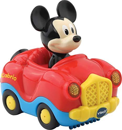 Vtech 80-511004 TUT Baby Mickys Cabrio Flitzer Fahrzeuge Babyauto, bunt