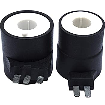 Ultra Durable 279834 Dryer Gas Valve Ignition Solenoid Coil Kit Replacement Part by Blue Stars - Exact Fit for Whirlpool Kenmore Maytag Dryers - Replaces AP3094251 PS334310 12001349
