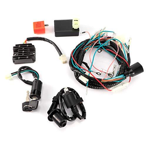 Arnés eléctrico, kit de arnés, kit de encendido, interruptor de encendido, 1...