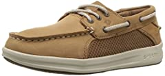 genuine leather upper lace for easy on/off and adjustability memory foam footbed flexible, lightweight midsole non-marking siped rubber outsole for traction