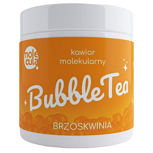 Bubble Tea Popping Boba Perzik Moleculaire Kaviaar Tapioca Parels 800g