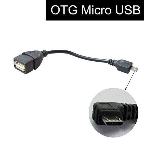 Micro USB Cavo OTG Cavetto Adattatore per Auto Sistema di Navigazione GPS, V8 Android Smart Phone Samsung HTC Huawei Memory Stick U-Disk Data Access / mouse / tastiera Connection