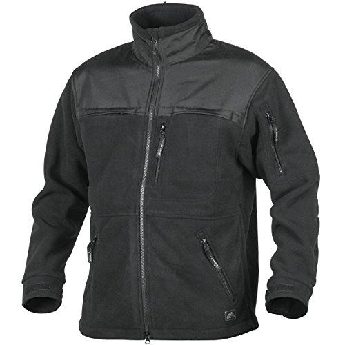 Helikon Defender Duty Fleece Jacke Schwarz Größe XL