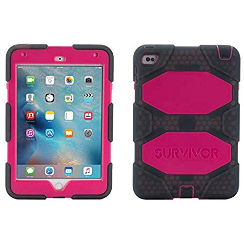 Griffin Rugged Protection Survivor All-Terrain Case for iPad Mini 4 - Smoke Blac