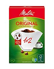 Melitta Original 1 x 2 Coffee Filters - 40 Filters