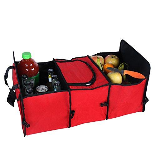 Medifier Organiseur pliable, robuste et multifonction en tissu Oxford Pour voiture Pour voyage, Vacances, camping