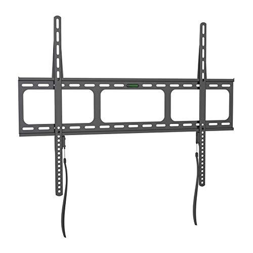 Gibbon Mounts Fixed TV Wall Mounts- Low Profile TV Bracket Mounts for Most 42-100' LED/LCD Flat Screen TVs, 0.63''Ultra Slim, Max.VESA 800X600, Up to 220lbs Capacity