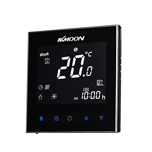 KKmoon 5A AC 95-240V Termostato Inteligente para Caldera de...