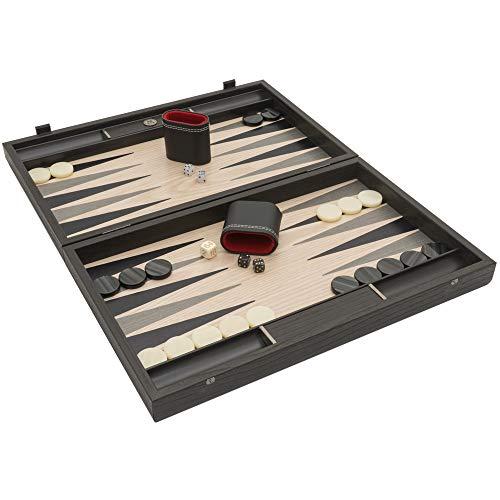 Manopoulos - Backgammon in Walnuss