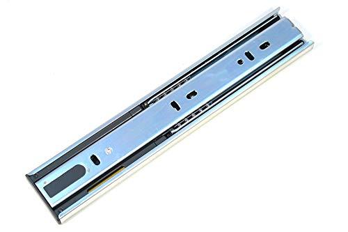 GTV Versalite Soft-Close Vollauszug Teleskopschiene Schubladenschiene Schubladenschienen 25-44.5cm