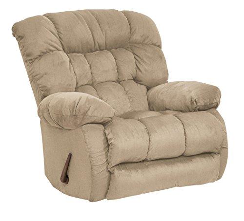 Hazelnut Catnapper Teddy Bear Oversized Chair Chaise Swivel Glider Recliner