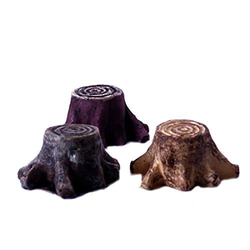 Minitocón de resina para decoración de jardín de hadas, en miniatura.