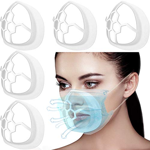 3D Support de Maske Halterung Lippenstift Schutz Stehen Verhindern Schminken Entfernung Verbessern...