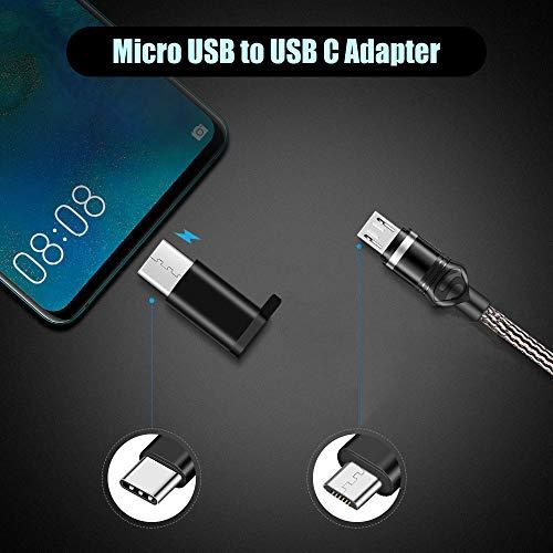 SZBHSKJ USB-C-Adapter, Micro-USB-zu-USB-C-Adapter, USB-C-zu-USB-A-Adapter, USB-C-zu-USB-3.0-Adapter für MacBook Google Pixel Dell XPS, Huawei Mehr-6Pack