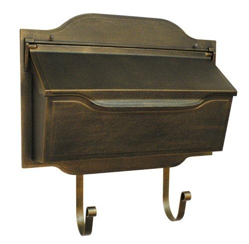 Special Lite Products SHC-1002-BR Contemporary Horizontal Mailbox, Bronze