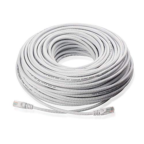 Lknewtrend 60FT Feet CAT5 Cat5e Ethernet Patch Cable - RJ45 Computer Network Internet Wire PoE Switch Router Cord