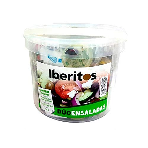 Cubo 30 monodosis para ensalada: Vinagre - Aceite...