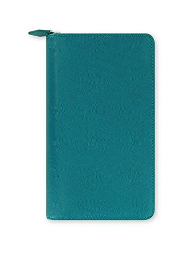 Filofax 22536 Organizer Compact Saffiano Zip, aquamarine