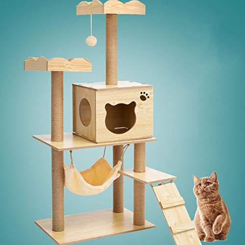 HCMNME Torre de Gato de árbol de Gatos, Marco de Escalada de...