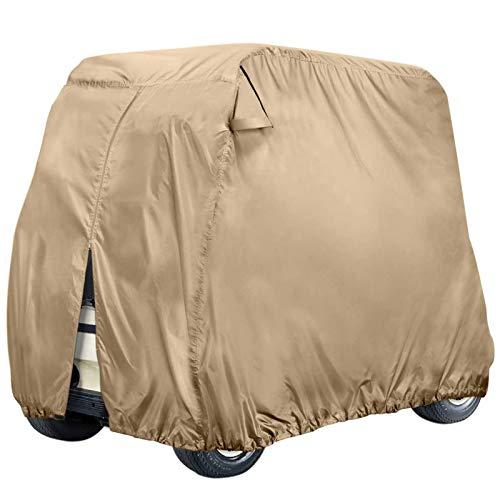 JLKDF Cubierta para Carrito de Golf para pasajeros al Aire Libre, Cubierta para Carrito de Golf Personalizada, Cubierta para Carrito de Golf al Aire Libre, Cubierta Protectora para Todo