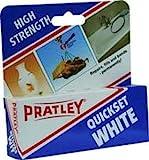 Pratley Quickset White Epoxy - Shiny White Finish