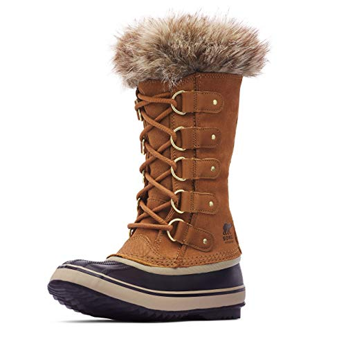 Sorel Women's Joan of Arctic Boot - Rain and Snow - Waterproof - Black, Camel Brown - Size 8
