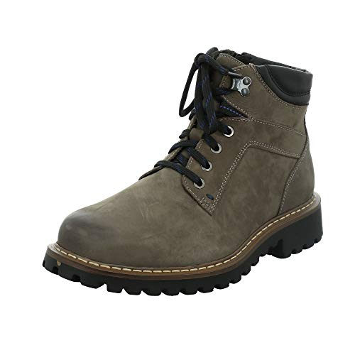 Josef Seibel Herren Stiefel Chance 17, Männer Winterstiefel, maennlich Men\'s Men Man Freizeit Winter-Boots gefüttert,Braun(Vulcano),42 EU / 8 UK