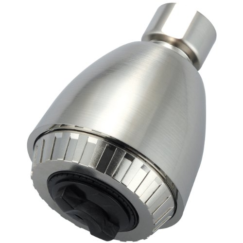 Olympia Faucets OP-640003-BN Single Function Standard Showerhead, PVD Brushed Nickel Finish