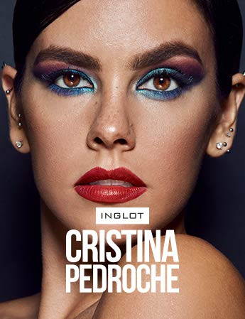 Inglot - Lipstick Q10 More than red 48, Cristina Pedroche x INGLOT
