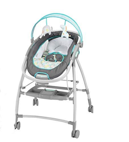 Thole Babywip schommel babyligstoel licht vouwen geschikt voor 0-5 jaar grijs