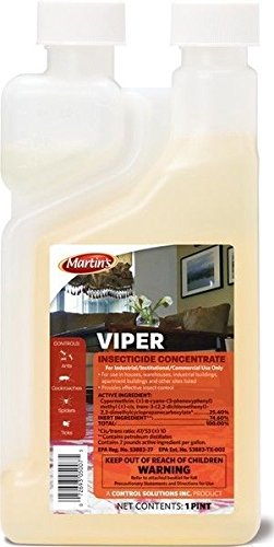 Viper Insecticide Conc 16oz Cypermethrin 25.4% Not For Sale To New York Or Ca