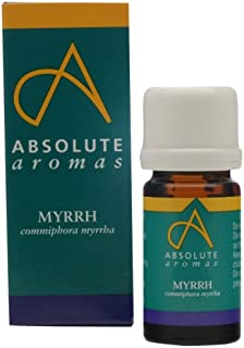 Absolute Aromas Myrrh 5ml (commiphora myrrha) Essential Oil - 100% Pure, Natural, Undiluted and Cruelty-Free - For use in Diffusers and Aromatherapy Blends