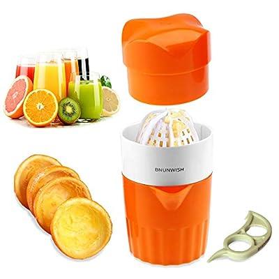Hand Juicer Citrus Orange Squeezer Manual Lid Rotation Press Reamer