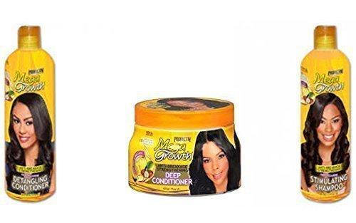 Profectiv Nettoyer, Démêle les cheveux et Condition TRIO ensemble de Afro produits De Soins Capillaires (pleine taille produits)