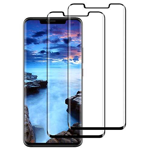 Panzerglas Schutzfolie für Huawei Mate 20 Pro, [2 Stück] Huawei Mate 20 Pro Panzerglasfolie Bildschirmschutzfolie, 9H Festigkeit/Blasenfrei/Anti-Kratzer/HD Ultr Panzerfolie Folie für Huawei Mate 20 Pro