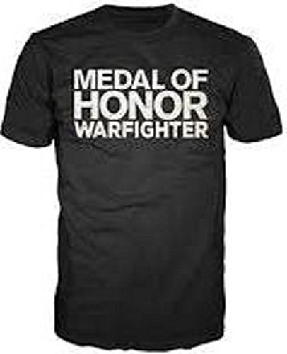 Medal Of Honor T-Shirt Warfighter MOH Black in Größe M