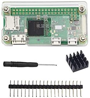 LANDZO Raspberry Pi Zero W Case Kit for Raspberry Pi Zero and Zero W (Motherboard not Included)