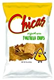Delicious Corn Chips hand-crafted in Rice Bran Oil and Sea Salt Vegan, Gluten Free No Cholesterol and No Trans-Fat Pairs great with dips, soups, salads and various other dishes.