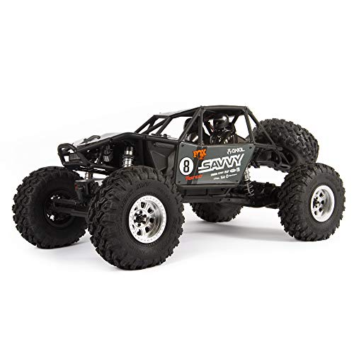Axial RC Truck 1/10 RR10 Bomber 4WD Rock Racer Ready-to Run (Battery and Charger Not Included), Savvy, AXI03016T2