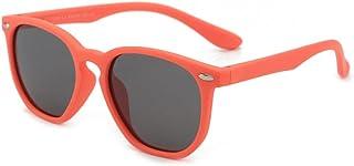 Gosunfly - Gafas de sol para niños de moda polar square box sunglasses-C3-orange box_Gray tablet
